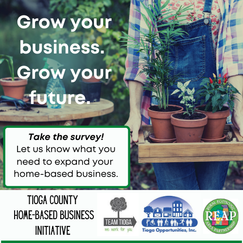 Tioga Opportunities, Inc., Team Tioga, and R.E.A.P. Partner on Home-Based Business Initiative