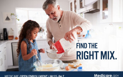Medicare Open Enrollment October 15th-December 7th