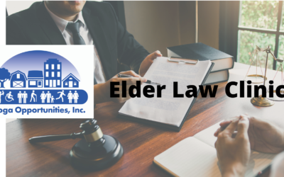 Tioga Opportunities, Inc. offers Annual Elder Law Clinic