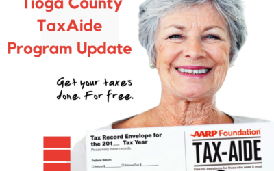 Tioga County TaxAide Program Update from AARP
