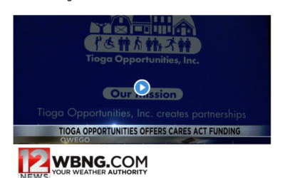 Tioga Opportunities, Inc.'s COVID-19 Response Featured on WBNG 12 News
