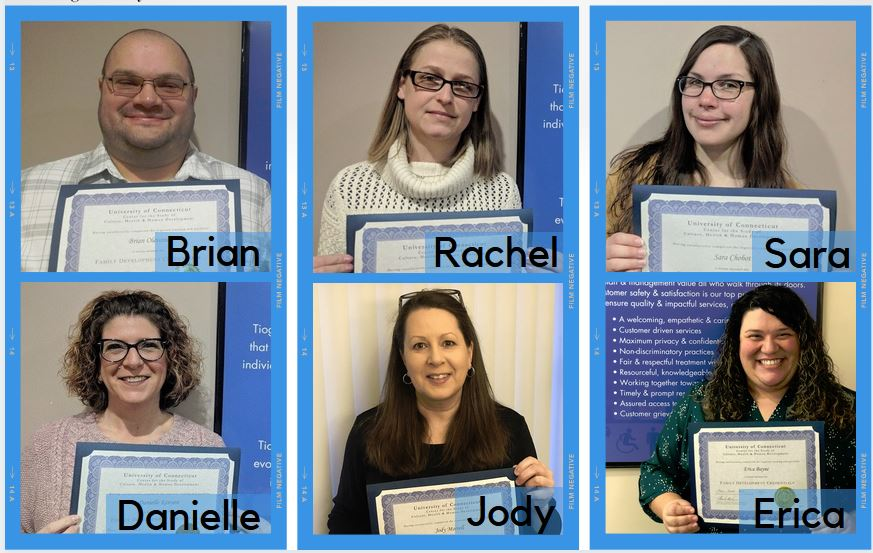 TOI Staff Earn Nationally Accredited Family Development Credential