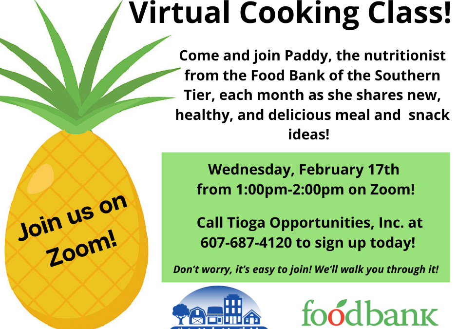 TOI to Host Virtual Cooking Class