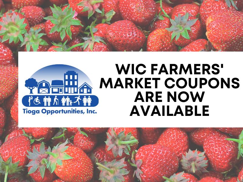 WIC Farmers' Market Nutrition Program Coupon Season is Here!