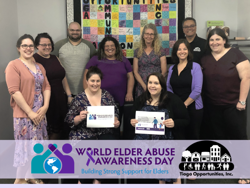 TOI Takes Part in World Elder Abuse Awareness Day