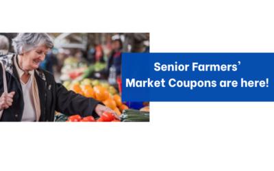 Seniors Farmers' Market Nutrition Program Coupons Still Available