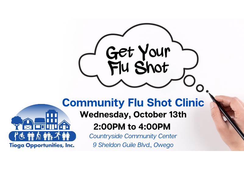 Save the Date: TOI Hosts Community Flu Shot Clinic on October 13th