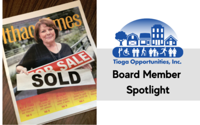 Board Member Spotlight: Karen Johnson featured in Ithaca Times