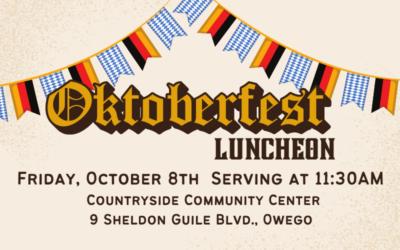 Prost! Join us for Oktoberfest!